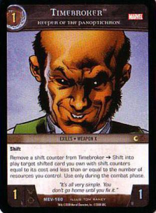 Timebroker, Keeper of the Panoptichron