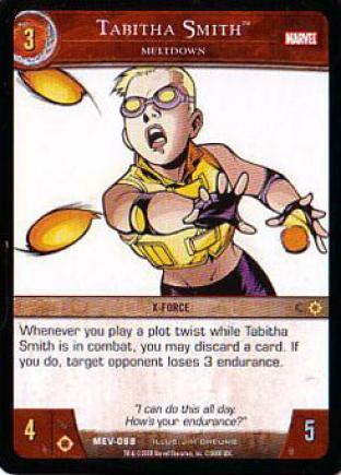 Tabitha Smith, Meltdown