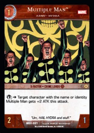 Multiple Man, Army - HYDRA