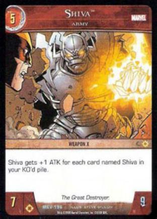 Shiva, Army