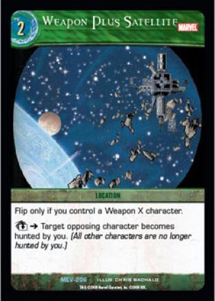 Weapon Plus Satellite