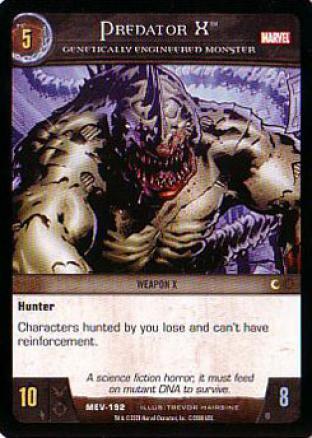 Predator X, Genetically Engineered Monster
