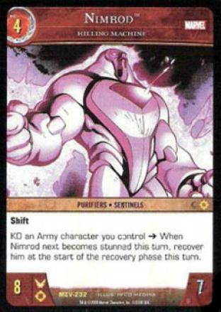 Nimrod, Killing Machine