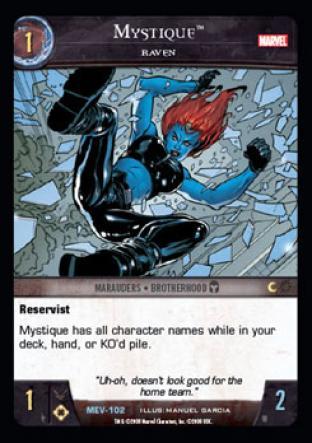 Mystique, Raven