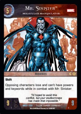 Mr. Sinister, Molecular Manipulator
