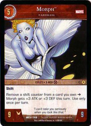 Morph, Earth 1081