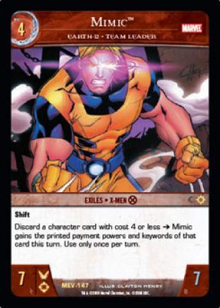 Mimic, Earth-12 - Team Leader