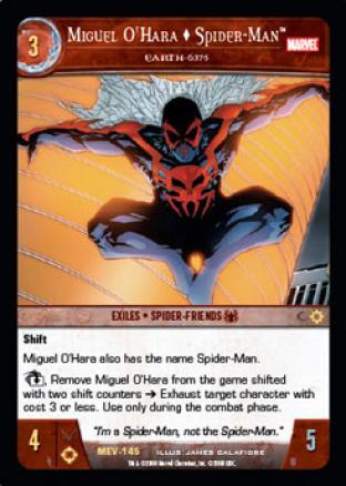 Miguel O'Hara  Spider-Man, Earth 6375