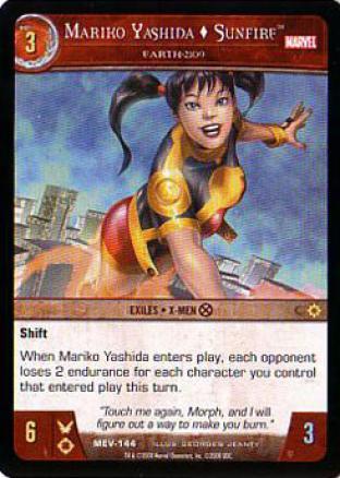 Mariko Yashida  Sunfire - Earth-2109