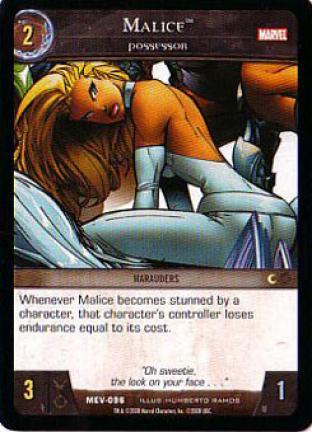 Malice, Possessor