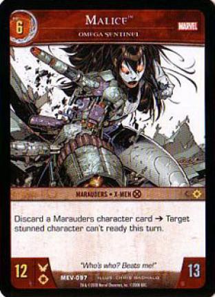 Malice, Omega Sentinel