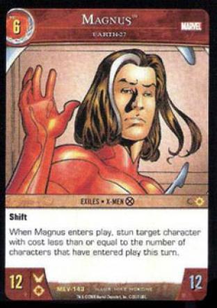 Magnus, Earth 27