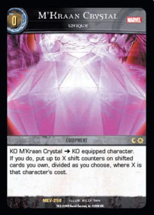 M'Kraan Crystal, Unique