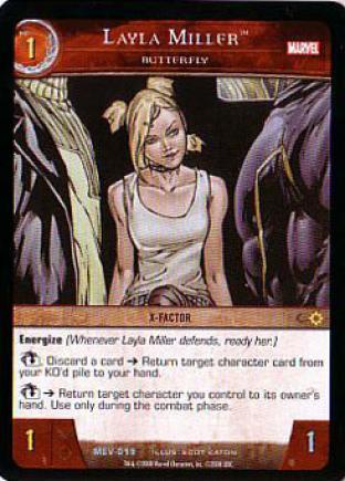 Layla Miller, Butterfly