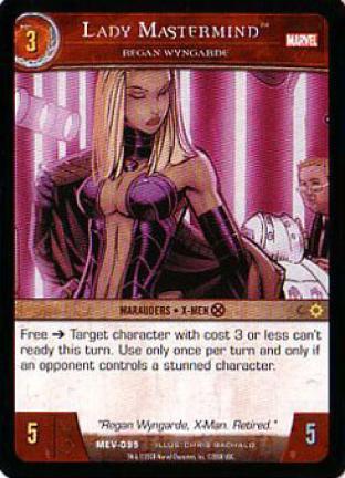 Lady Mastermind, Regan Wyngarde