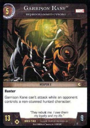 Garrison Kane, Reprogrammed Cyborg