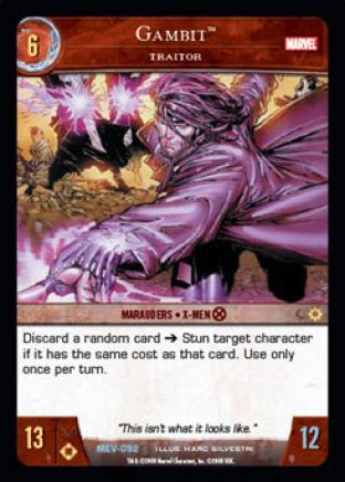 Gambit, Traitor