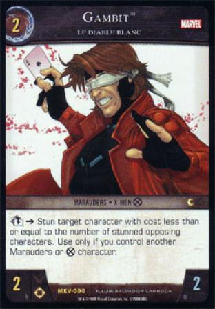 Gambit, Le Diable Blanc