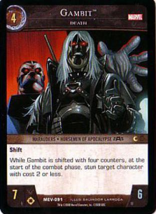 Gambit, Death