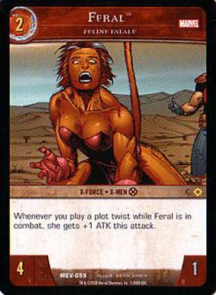 Feral, Feline Fatale