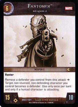 Fantomex, Weapon 13