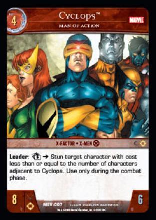 Cyclops, Man of Action.