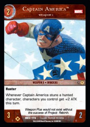 Captain America, Weapon 1