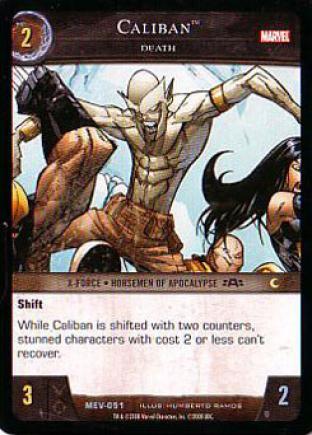 Caliban, Death