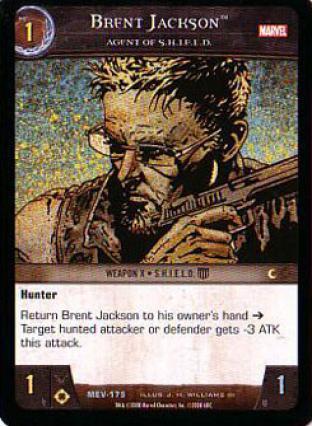 Brent Jackson, Agent of S.H.I.E.L.D.