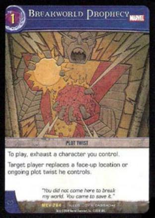 Breakworld Prophecy