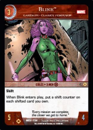 Blink, Earth-295 - Clarice Ferguson