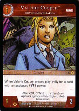 Valerie Cooper, Government Liason