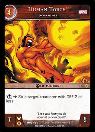 Human Torch, Nova Blast