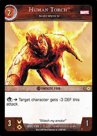 Human Torch, Matchstick