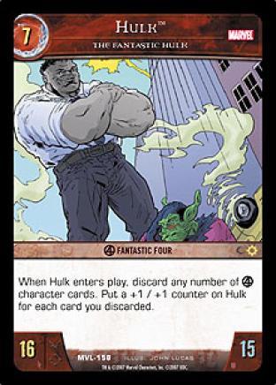 Hulk, The Fantastic Hulk