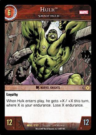 Hulk, Savage Hulk