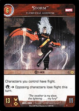 Storm, Elemental Goddess