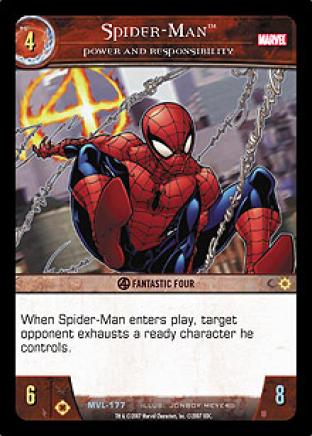 Spider-Man, Power and Responsibility