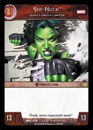 She-Hulk, Single Green Lawyer
