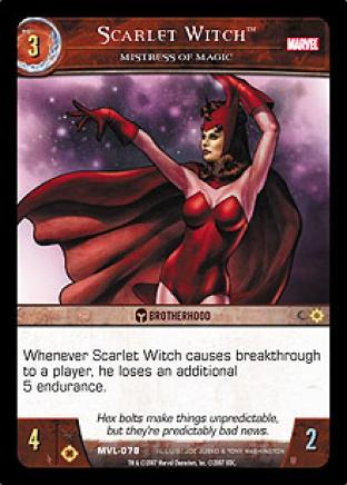 Scarlet Witch, Mistress of Magic