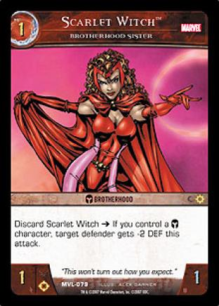 Scarlet Witch, Brotherhood Sister