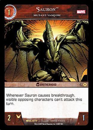 Sauron, Mutant Vampire
