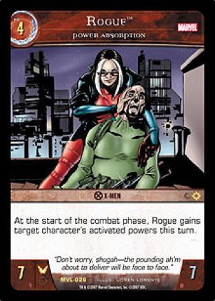 Rogue, Power Absorption