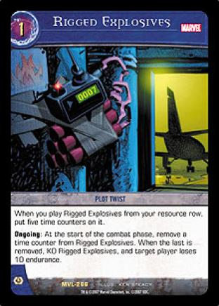 Rigged Explosives