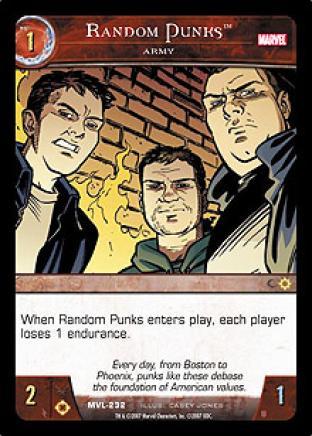 Random Punks, Army
