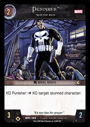Punisher, Suicide Run