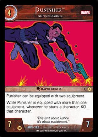 Punisher, Guns Blazing