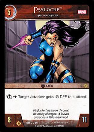 Psylocke, Second Skin