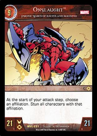 Onslaught, Psionic Spawn of Xavier and Magneto