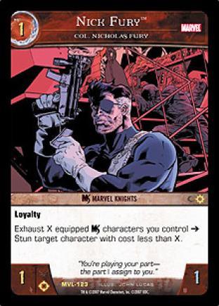 Nick Fury, Col. Nicholas Fury